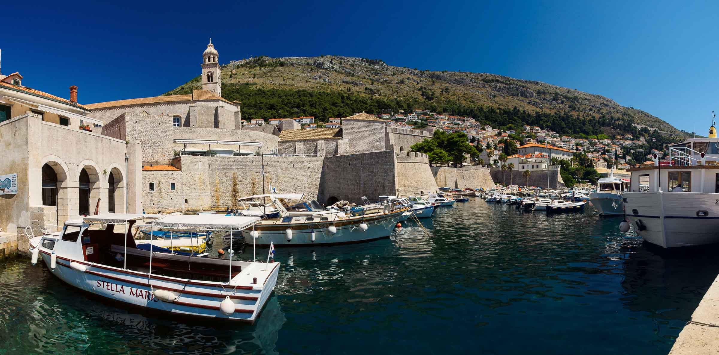 Dubrovnik Harbour, Croatia