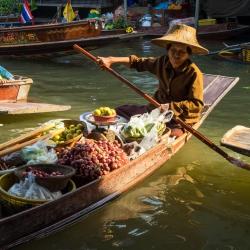 Damnoen Saduak Floating Market-10