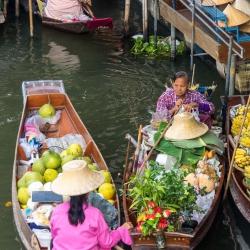 Damnoen Saduak Floating Market-8