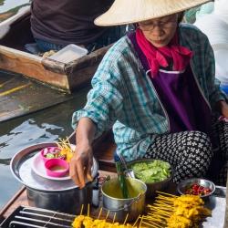 Damnoen Saduak Floating Market-9