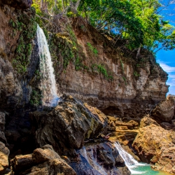 Waterfall at Nicoya Peninsular
