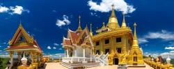 Wat Khiri Wong Temple in Nakhon Sawan Province